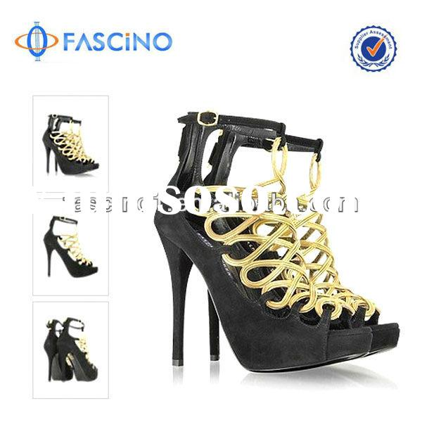 strappy high heel sandals 2014 for ladies