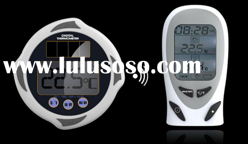 2013 Poolstar P1540 wireless digital solar thermometer indoor outdoor thermometer wireless