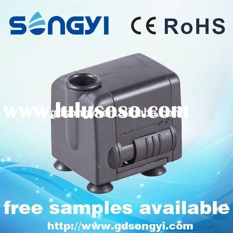 2014 New small water pumps for fountains Christmas on sale