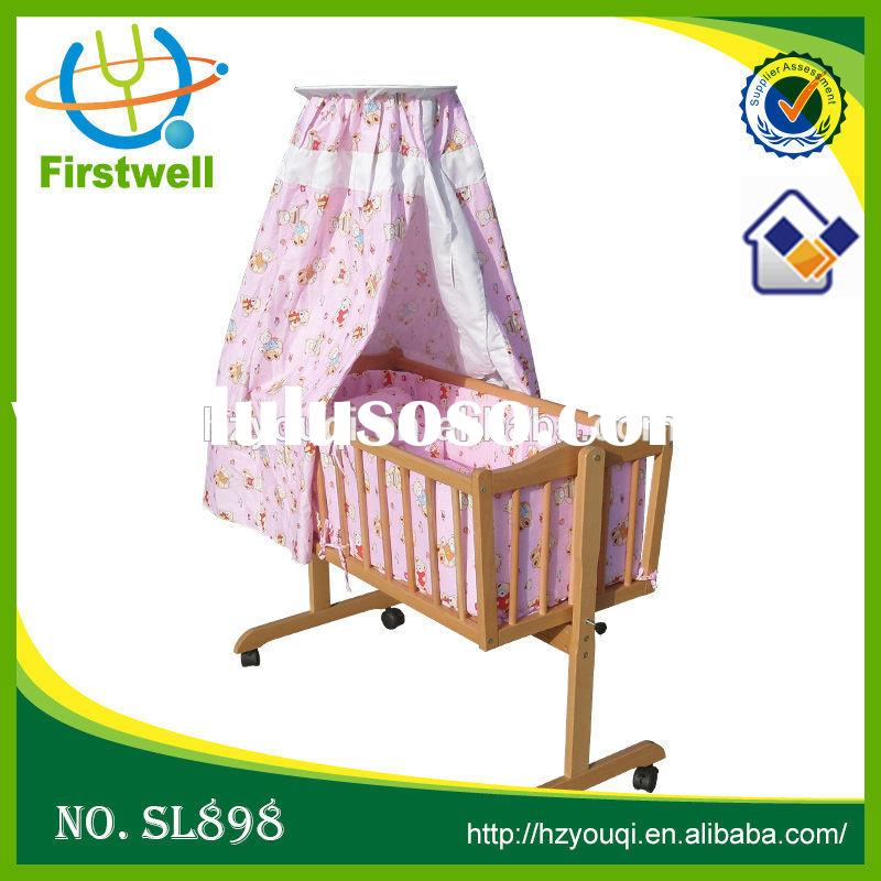 2015 top slaes multi-purposes baby crib/adult baby bed/modern baby cribs