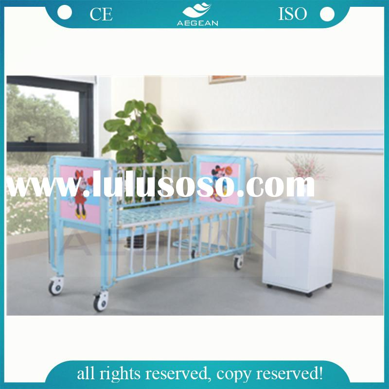 AG-CB003 CE,ISO hot sale hospital adult stainless steel baby crib