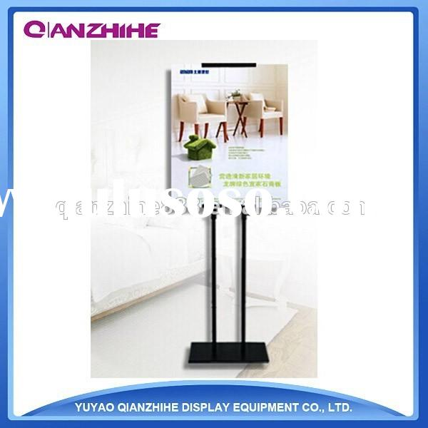 Adjustable Metal Poster Stand Advertising Display Easel stand for Promotion