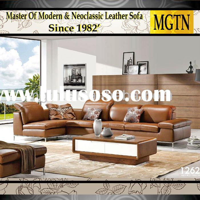 Contemporary Home Furniture Modern Italian leather Sofa 1262
