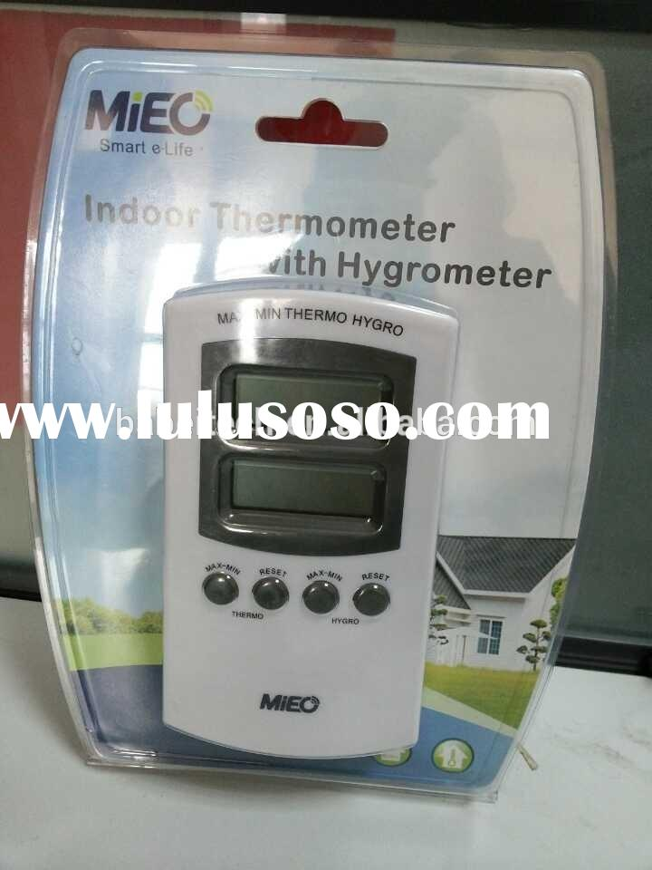 HH439 digital in-outdoor/industrial thermometer& hygrometer