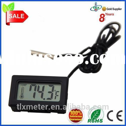 Lcd Thermometer Accessories Digital Thermometer Aquarium With Waterproof Probe