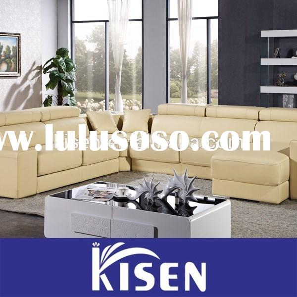 Living room furniture mordern leather recliner contemporary sofa