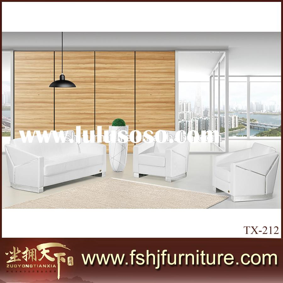 Modern Leather Couch Love Seat Sofa/Two Seat Sofa For Living Room Sofa White SofaTX-212