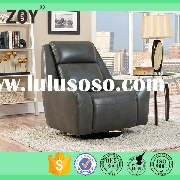 New Model Synthetic Leather Single high back sofa For Modern Contemporary Furniture, Swivel Sofa ZOY