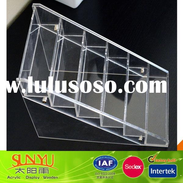 New Clear Acrylic Nail Art Display Stand