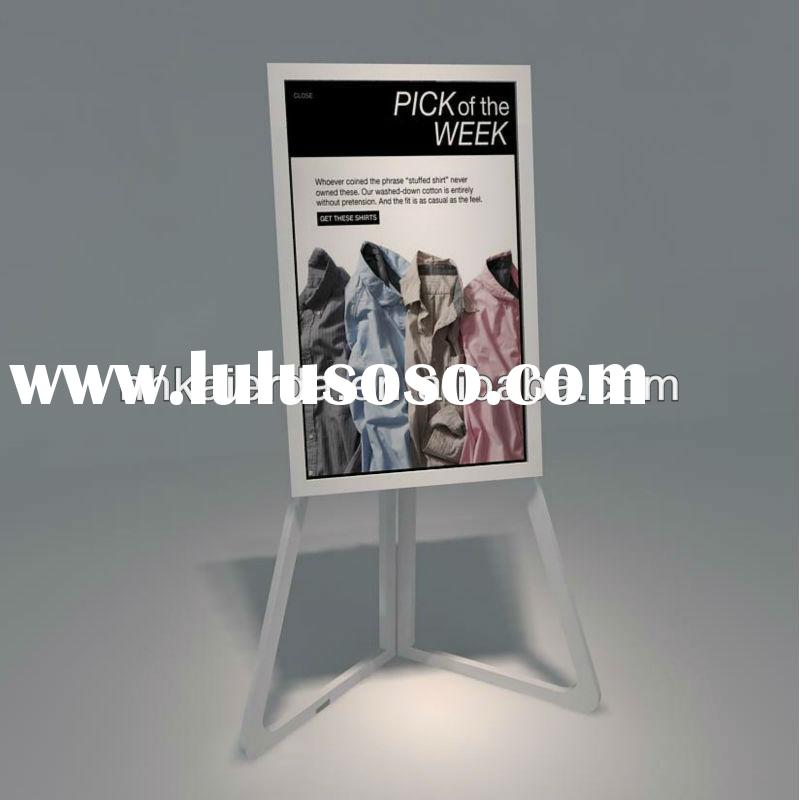 Retail Store Metal Display Easel Stand