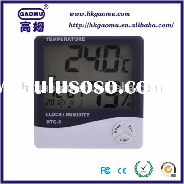 Wholesale Weather Station Temperature Humidity Meter LCD Display wireless indoor outdoor thermometer