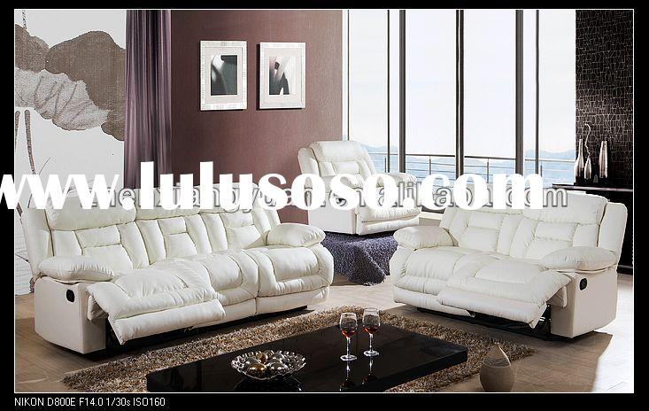 living room furnitures contemporary modern reclining sofa leather sofa