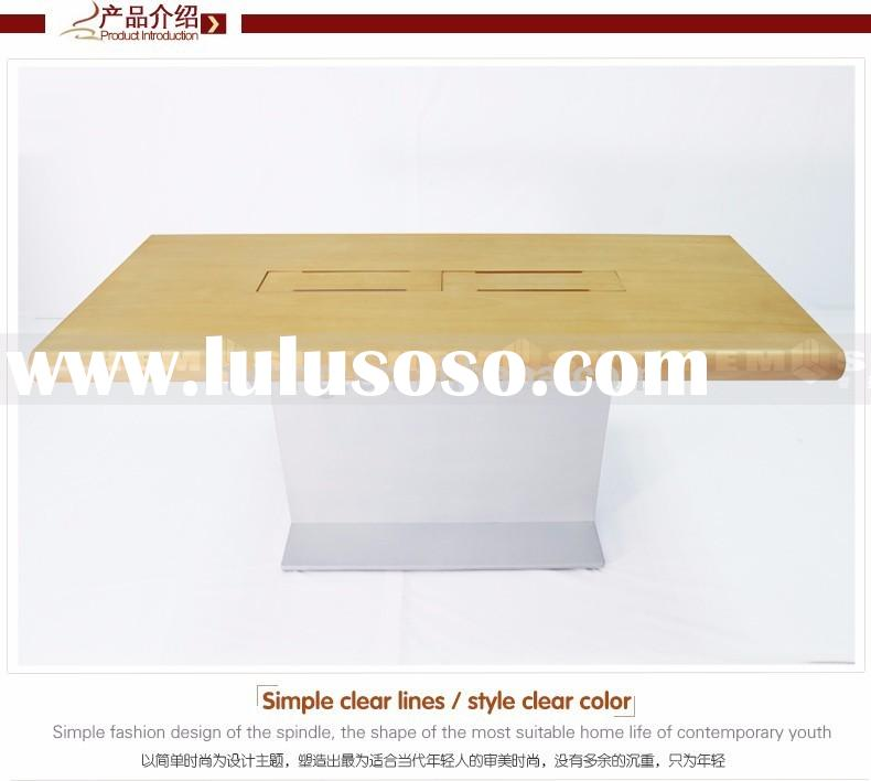 mobile phone display table/retail display table/wooden display stand