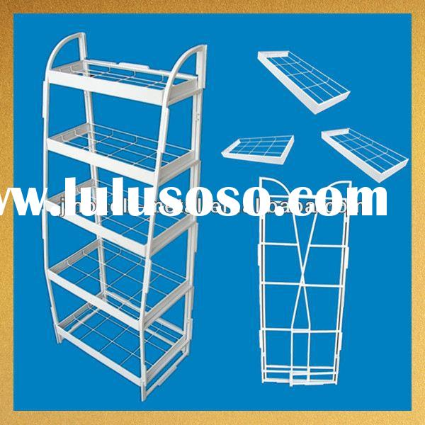 new arrival supermarket metal powder coated display easel stand