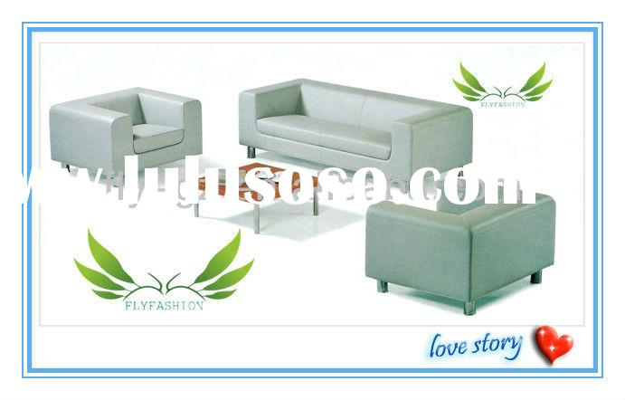 white genuine leather sofa set/ white leather sofa/ modern leather couch/ bedroom furniture set