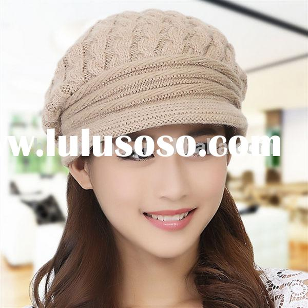 Crochet hats for woman/winter woman knitted hats/fashion woman hats