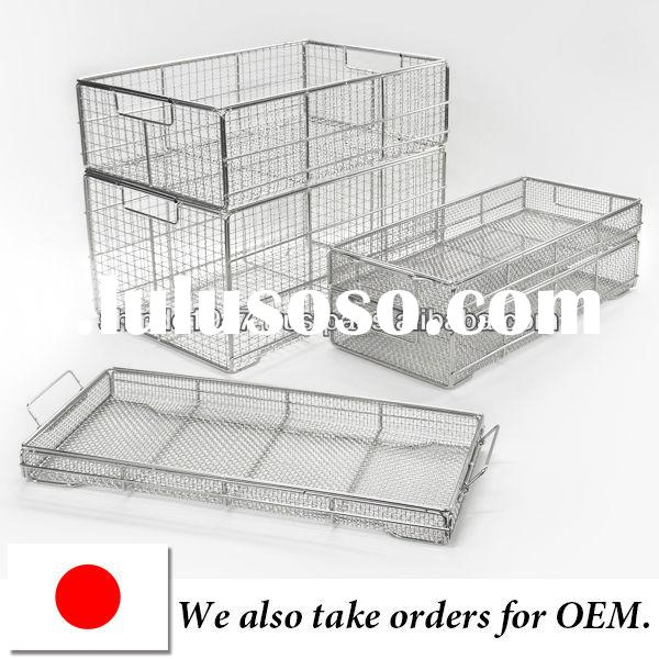 Durable cleaning baskets for medical equipment price list OEM available