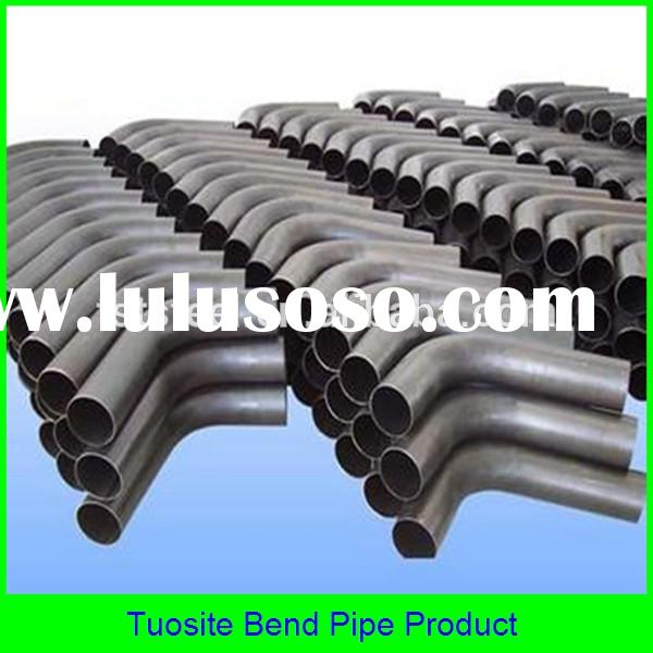 mitre bend pipe / exhaust pipe bend / mandrel bend pipe