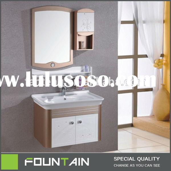 23 Inch Modern Small Space Saver Wash Basin Cabinet Bathroom Wall Corner Cabinet