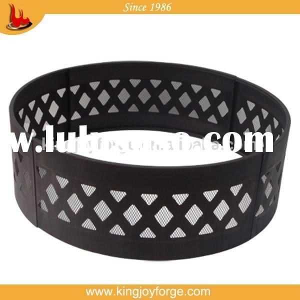 36 inch metal steel fire pit ring