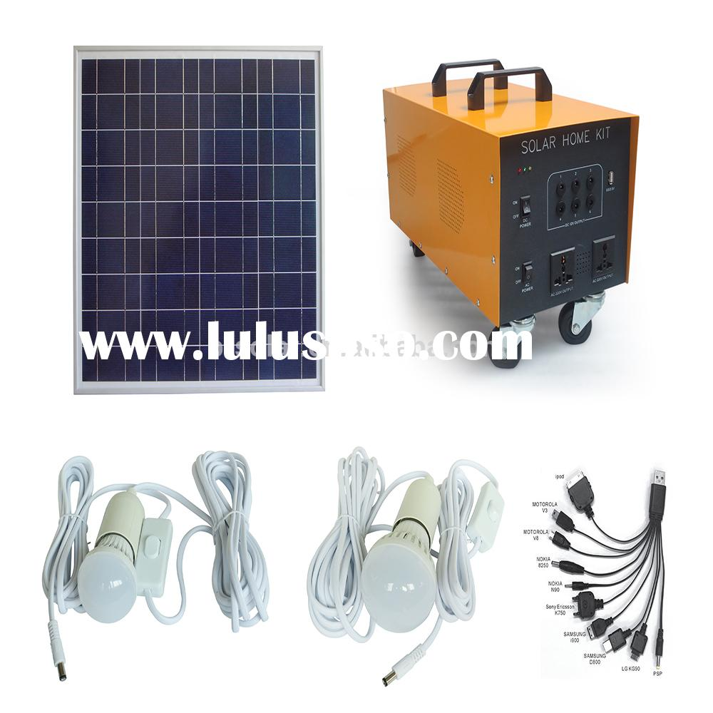 5 years warranty high quality 1kw solar system for home solar panel kits grid system