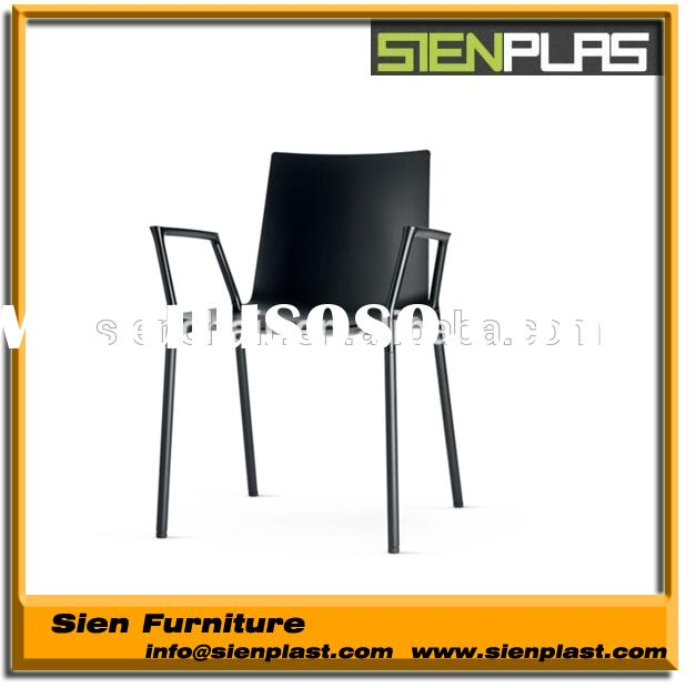 CN-PP-1002 outdoor furniture modern dining plastic chair low price dining chairs