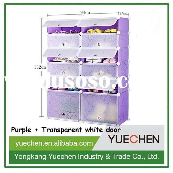 China wholesale diy moveable collapsible closet shoe rack