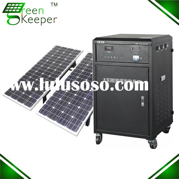 Chinese CHL solar panel off grid system complete for home use