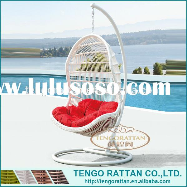 Fashion outdoor furniture swing egg chair,indoor hanging chair for bedroom (Y9068)