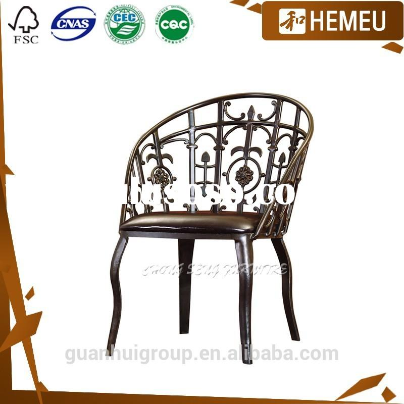 Foshan home dining room & outdoor furniture wrought iron modern dining room furniture set