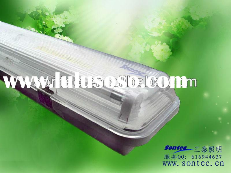 IP65 Decorative Fluorescent Light Hyaline Covers waterproof lighting fixture