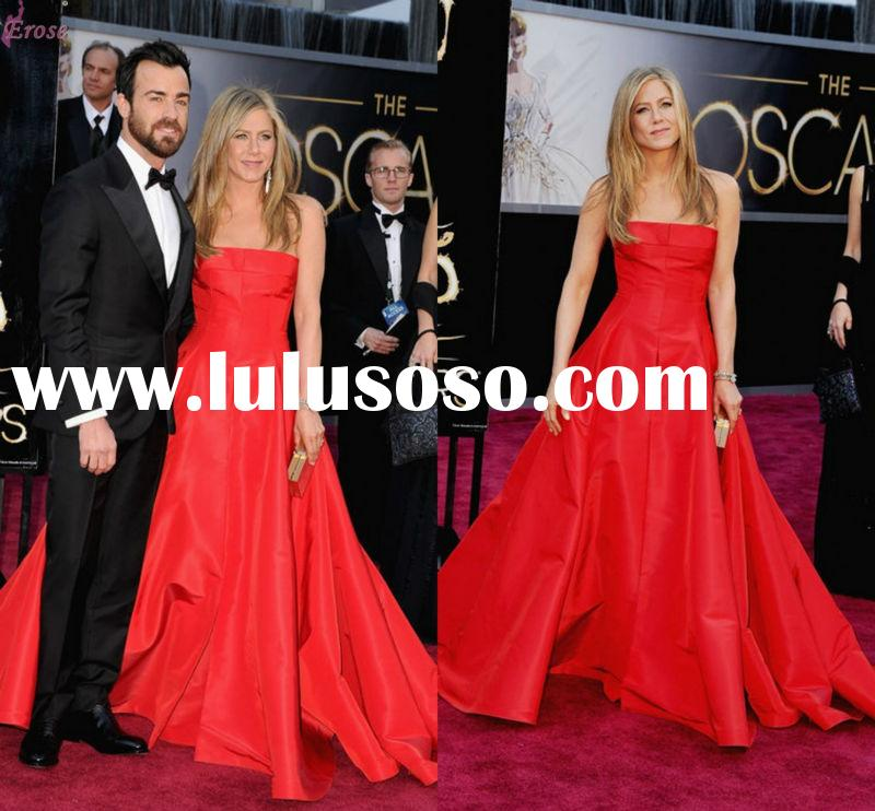LEV-052 The 85th Annual Oscars Academy Awards Red Carpet 2013 Princess Strapless Floor Length Latest
