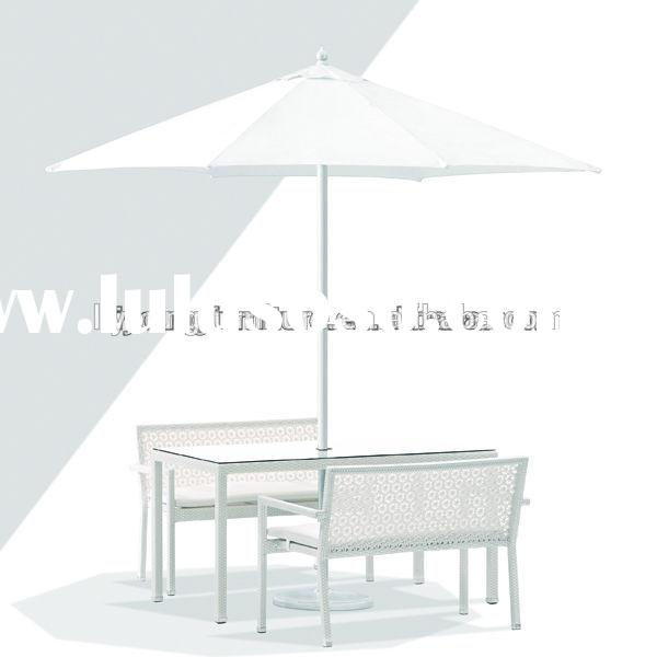Latest Outdoor White Dining room furniture cheap wrought iron outdoor table and chair antique furnit