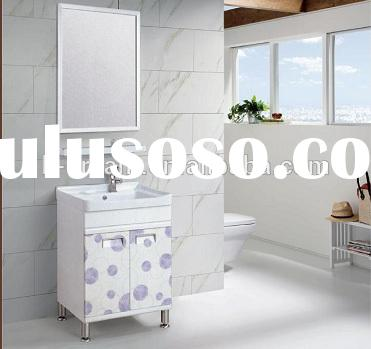 Modern Bathroom Cabinet Aluminum Small Bathroom Vanity Sink
