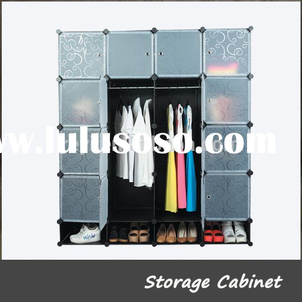 New DIY PP Sheet Cube Wardrobe for General Use Closet Shoe Rack Ideas