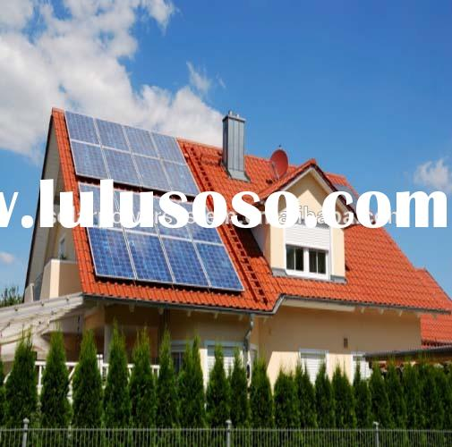 On grid/Off grid system Home solar panel kit , solar energy system price 1KW