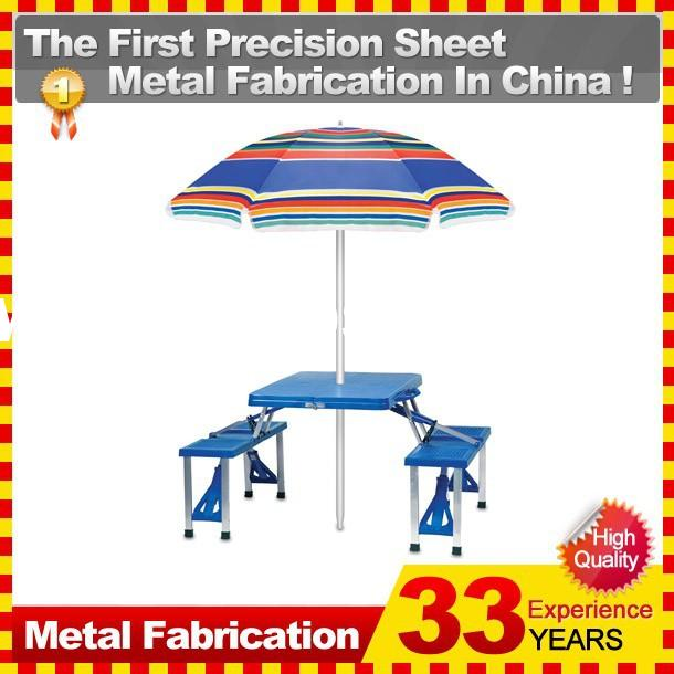 Portable Folding Table Tops Picnic Camping Outdoor Plastic Aluminum Sheet Dining 4 Chairs/Benches