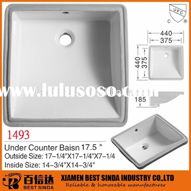 Square small bathroom sinks for small spaces