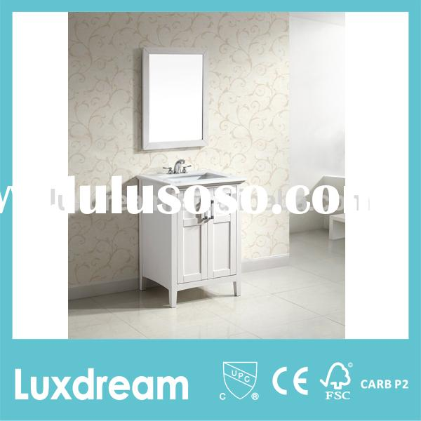 bathroom vanity for small spaces wooden bathroom cabinet with ceramic sink