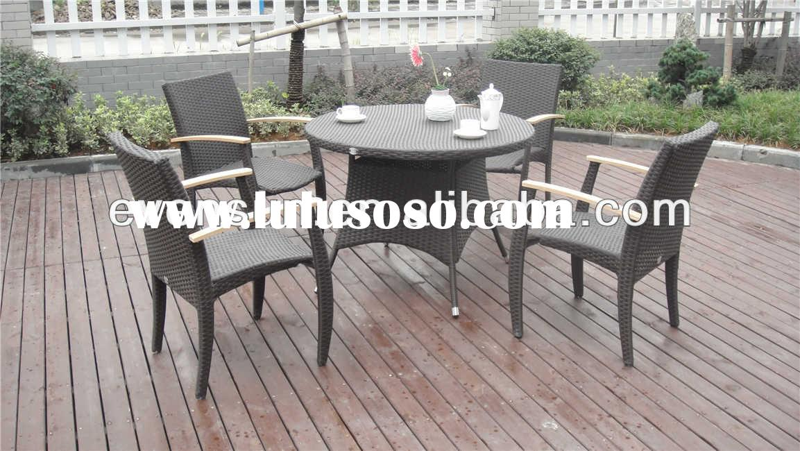 home furniture wrought iron modern dining room furniture set table and chair
