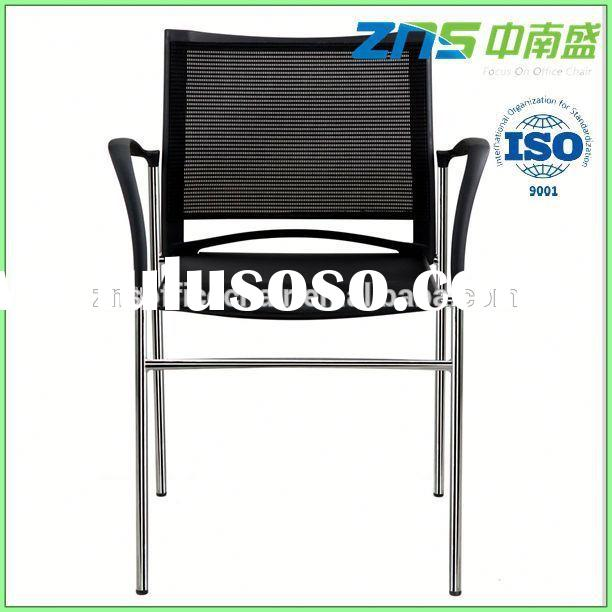 plastic back outdoor stackable chairs with arms