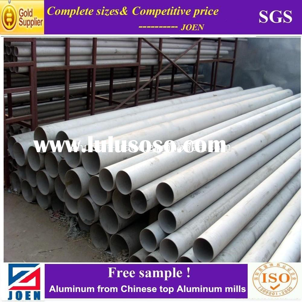 prime supplier 6061-t6 oval aluminum tubing