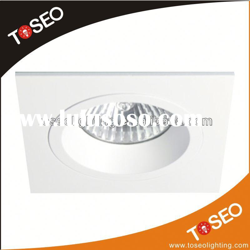 pure aluminium recessed decorative fluorescent light cover