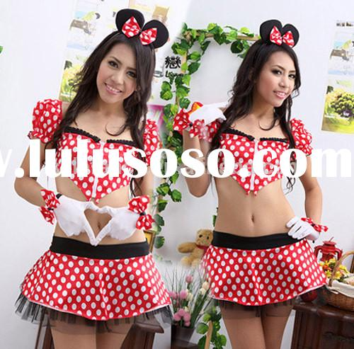 women fancy dress cartoon costume for adult QAWC-0146