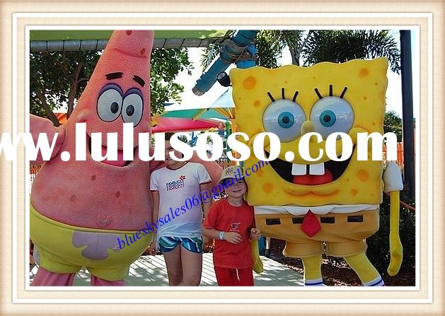 2014 adult spongebob mascot costumes for sale