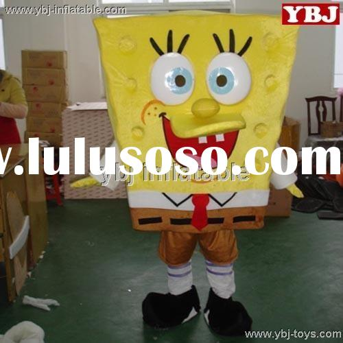 2015 Advertising SpongeBob SquarePants Mascot Costumes for sale