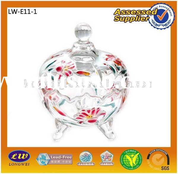 2015 Big Sale Glass Candy Jar With Lid/Candy Jar/Wholesale Glass Jars