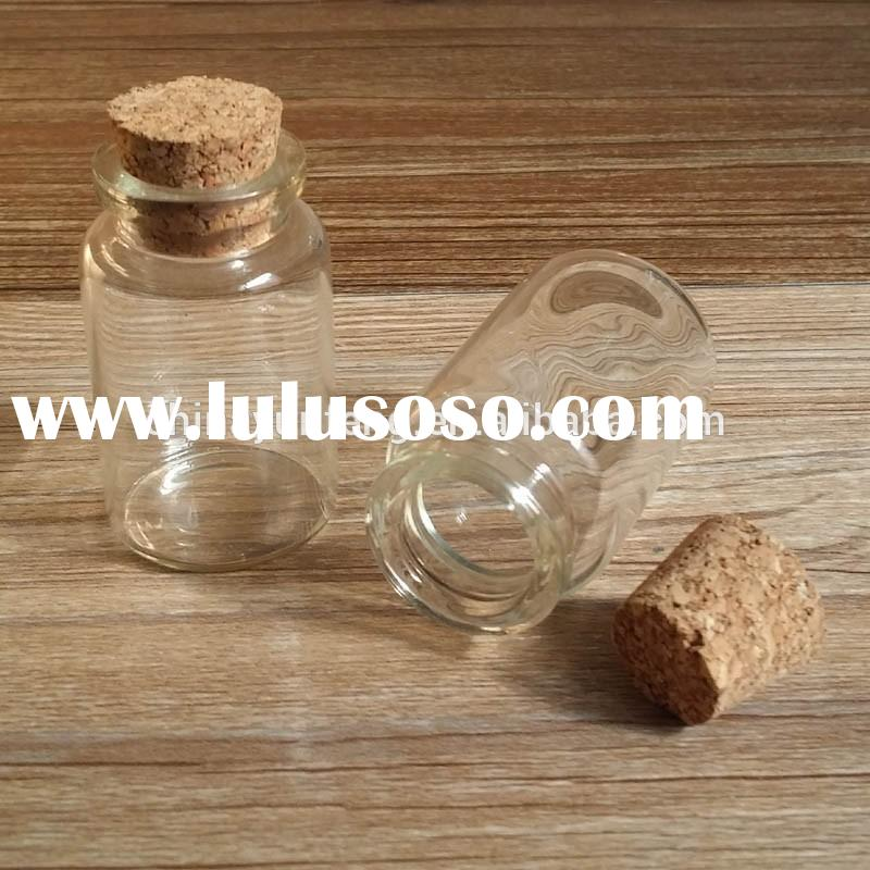 20ml Small Glass Jar With Cork Lid