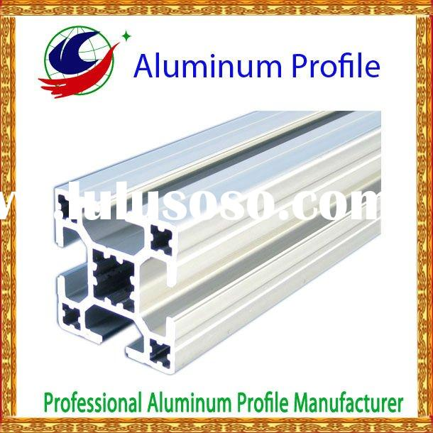 Aluminium kitchen cabinet profiles, windows or door using