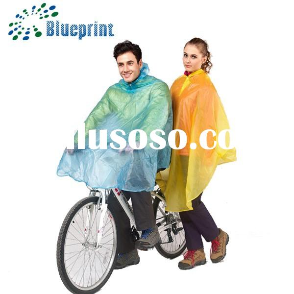 Best sale Popular waterproof pvc vinyl raincoat for women